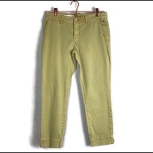 Pilcro and the Letterpress crop pants sz 27